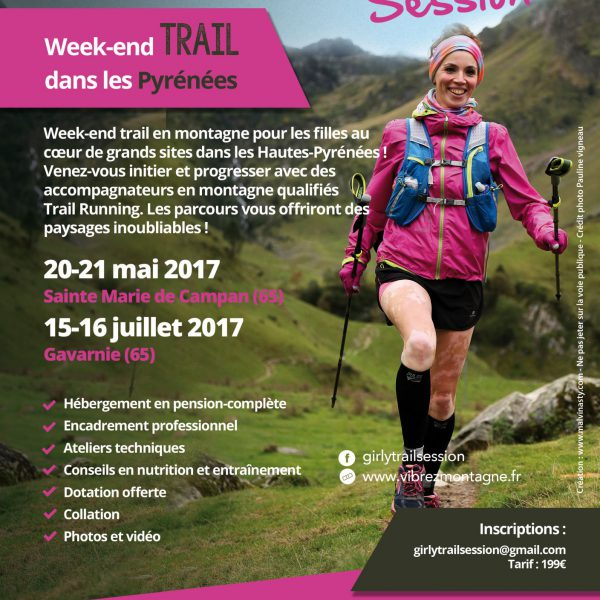 Week-End Girly Trail Session® – Gavarnie (65)
