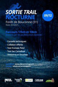 Sortie Trail Nocturne - Forêt de Bouconne