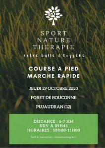 Course à Pied-Marche rapide- Forêt de Bouconne (31)