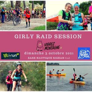 GIRLY RAID SESSION® - SIGEAN (11) Octobre 2021